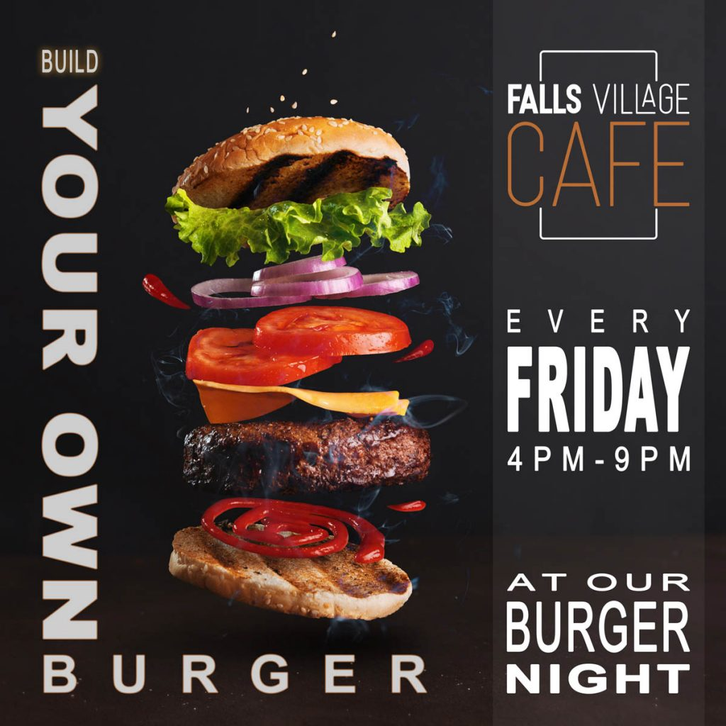 burger night - build your own burger